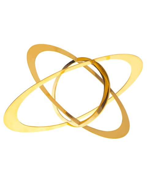 Astral gold orbit bracelet