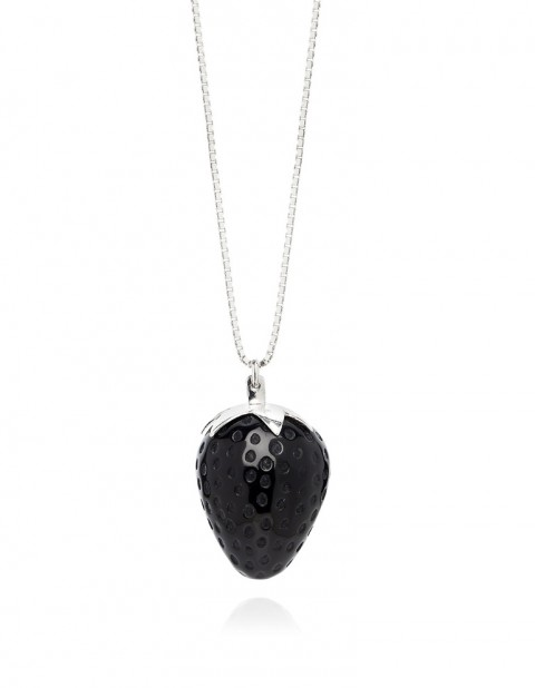 Strawberry Necklace ST02/3 Black