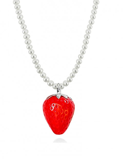 Strawberry Necklace ST07 Red