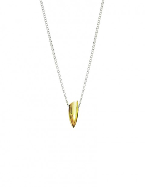 Tusk necklace - small TK01-GP/S