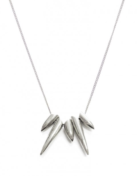 Five tusk necklace - TK04-S/S