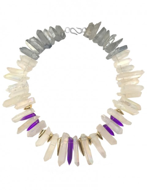 Tropical cloud necklace TK30-WHQ/LBQ/GP/PLPX