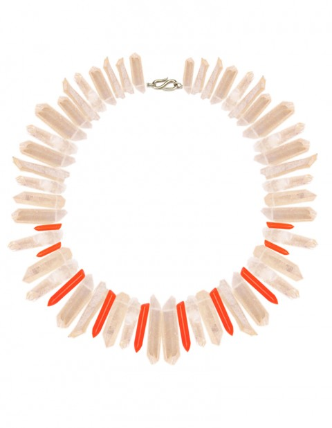 Neon peach necklace TK31-PCHQ/RPX