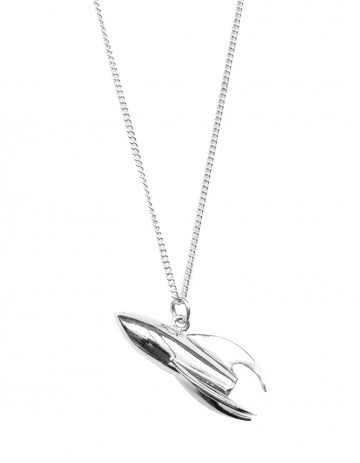 Astral silver rocket necklace AS40-S/S