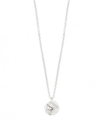 Little Lash Ball Knot Necklace LL02-S