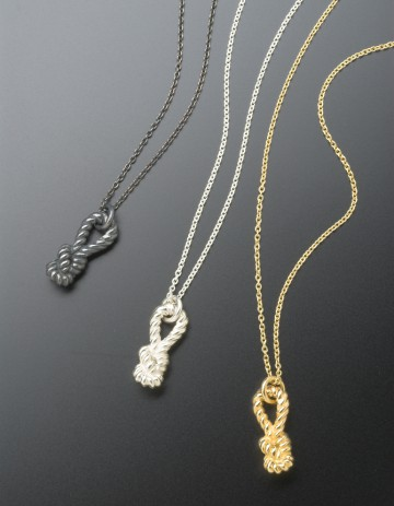 Little Lash Loop Knot Necklace LL03-S/O/GP