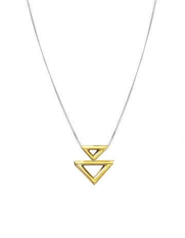Innan necklace double TR07-GP/S