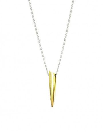Tusk necklace - medium TK02-GP/S