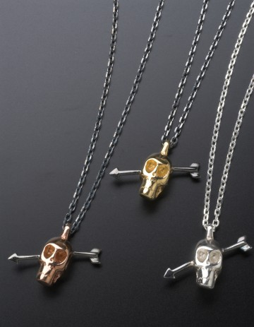 Skull Necklaces SS27/GP SS27/RG SS27/S